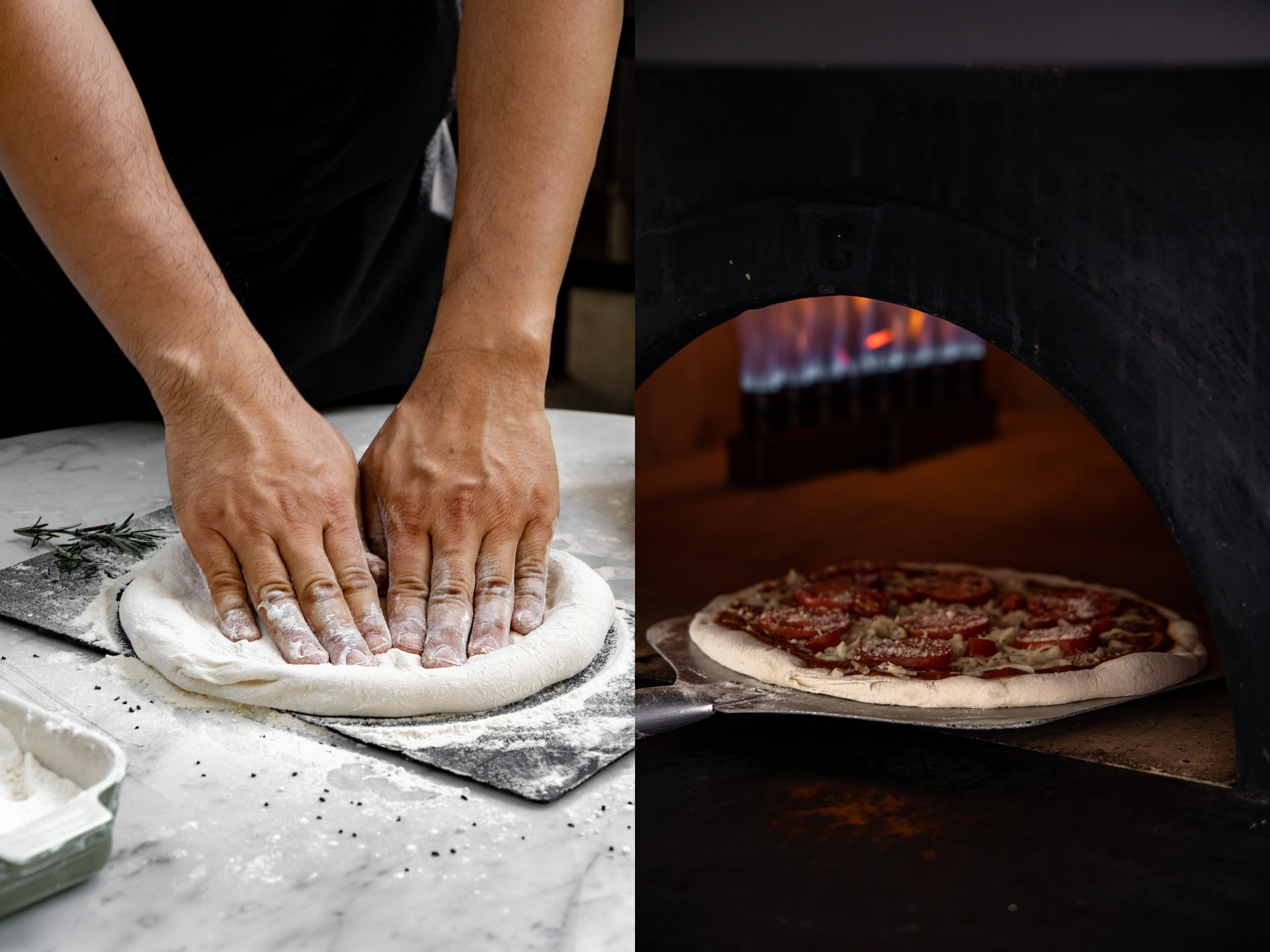 Pizza Behind the Scenes